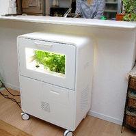 Panasonic嘗試推行的 家庭用植物工廠。(圖片節錄自朝日新聞)