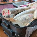 2013年8月30日在泰國查獲4箱裝有象牙的行李箱,這是其中一箱(照片由TRAFFIC提供)。