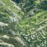 祕魯亞馬遜雨林的空拍圖。(攝影:Design Pics Inc / Rex Features。)