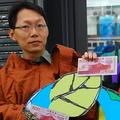綠黨秘書長潘翰聲呼籲綠色消費,以消費券為地球發聲