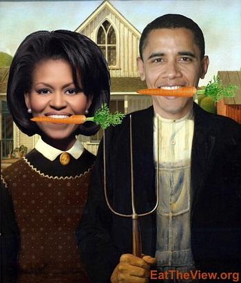 Roger Doiron希望歐巴馬在白宮第一草坪種有機菜。