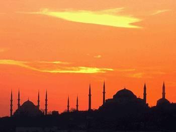 清真寺夕照  圖片提供:中華世界遺產協會