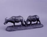 黃土水銅雕<雙牛>