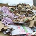 台灣各城鎮每日總產出堆積如山的回收物。圖片提供:我們的島