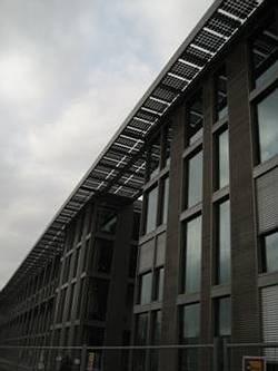 德國政府提供補助,太陽能發電榮景可期;圖片來源:曾千芝(德國柏林工業大學碩士生)