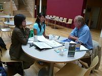 環境信託中心與Oliver Maurice面對面討論,更了解INTO的工作