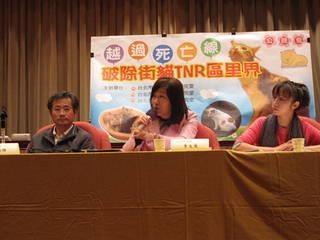 主持人李文英市議員,說明公聽會目的。圖片來源:李文英服務處。