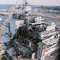 小小的台灣無法承受任何一絲的核能意外,圖為車諾比4號反應爐爆炸