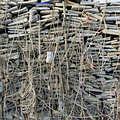 成堆的電子廢棄物(照片來源:綠色和平)