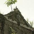1905年興建龜山電廠目前已成廢墟一片