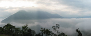 於立霧山俯瞰雲海(攝影:陳永亮)