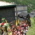 每年一度的媽祖出巡,成為金瓜石的百年傳統