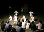 太魯閣族少女的表演。