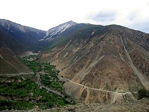 壯觀的瀾滄江河階梯田