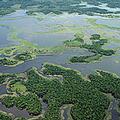 印尼島嶼在全球暖化的威脅下可能消失於海平面之下(圖片來源: Greenpeace)
