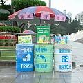 台北燈會的資源回收站