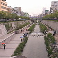 韓國著名的清溪川;圖片來源:我們的島