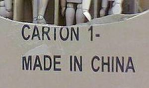 中國製產品受到疑慮(圖片來源:ENS)