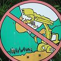「禁止濫挖山坡地」