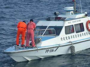 2000年海巡署接替陸戰隊接管東沙島