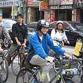 收復街道聯盟每月最後一個週六在台北市區辦的單車臨界量活動。圖片來源:彭郁娟,攝於2007/11/24