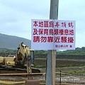 面對爭取多年的建設工程,金山鄉答應在丹頂鶴棲息期間暫時停工