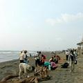 台南黃金海岸志工淨灘