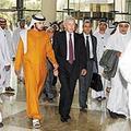 聯合國世界糧食計劃署副執行主任鮑威爾出席杜拜國際人道救援與發展大會。圖片來源:DIHAD