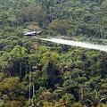 裝有殺蟲噴劑之飛機,釋放出消滅各種植物的化學物質。圖片來源:U.S. State Department