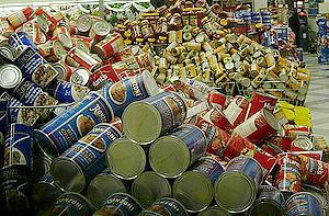 酚甲烷也會出現在食物罐頭的包材上。圖片來源:ENS