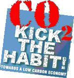 2008世界環境日主題為「踢掉CO2舊習慣,邁向低碳經濟」