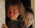 秘魯原住民小朋友。圖片來源:Survival International