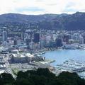 紐西蘭是全世界率先宣示要達到「碳中和」的國家之一,圖為威靈頓市。圖片來源:維基百科