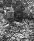 四川地震造成無數房舍毀損。圖片來源:中外對話