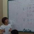 在印尼舉辦的「基礎華語教育暨環保宣導種籽學生培訓課程」國際志工營隊