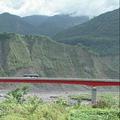 921後重建工程長距大橋興建成為紅色巨龍 圖片來源:公視「我們的島」