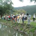 在景色優美的溪山苗圃舉行活動,還是頭一遭