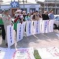 環保團體與台東縣民遊行抗議美麗灣開發案。