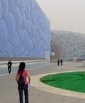 水立方和鳥巢體育場已成北京奧運的象徵圖騰;圖片來源guidofoc