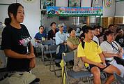 中國環保人士觀賞「貢寮,你好嗎?」