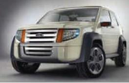 福特公司成功製造出環保概念車。圖片來源:柳源芷