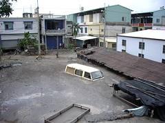 莫拉克期間屏東大水成災。(照片來源:公共電視我們的島)