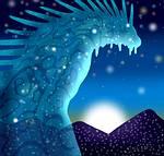 宮崎駿筆下的山獸神造型。(照片節錄自〈魔法公主電影〉)