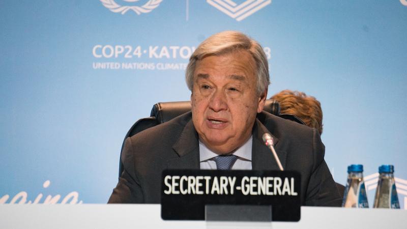 聯合國秘書長古特瑞斯(Antonio Guterres)