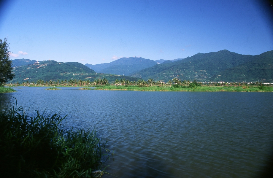 知本濕地樂山(1998年)。攝影:曾聖元