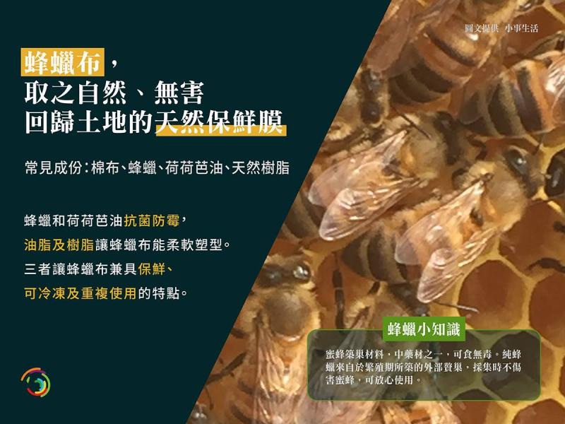 蜂蠟布,取之自然、無害回歸土地的天然保鮮膜